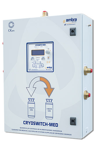 Switch over system for medical oxygen supply 1